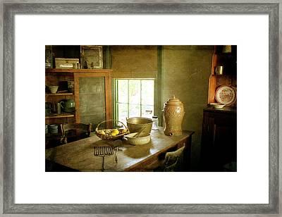 Buda-interior Framed Print