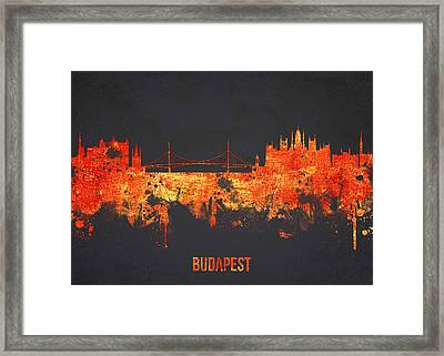 Budapest Hungary Framed Print by Aged Pixel