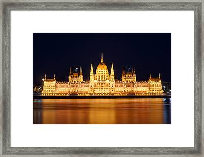 Budapest Parliament Framed Print by Ioan Panaite