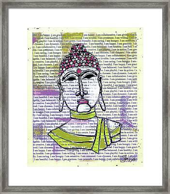 Buddha 1 Framed Print by Shanni Welsh