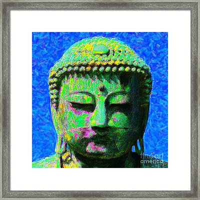 Buddha 20130130p0 Framed Print by Wingsdomain Art and Photography