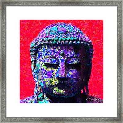 Buddha 20130130p128 Framed Print by Wingsdomain Art and Photography
