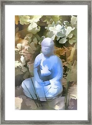 Buddha 3 Framed Print by Pamela Cooper
