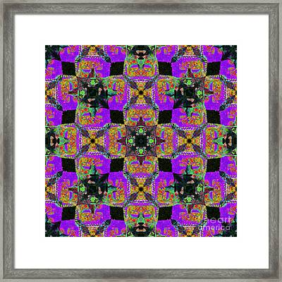 Buddha Abstract 20130130m28 Framed Print by Wingsdomain Art and Photography