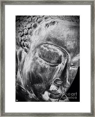 Framed Print featuring the photograph Buddha by Andy Heavens