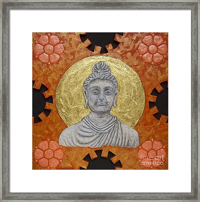Buddha Framed Print by Anna Maria Guarnieri