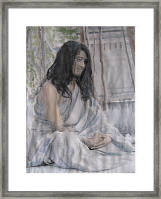 Buddha Boy Now A Man Framed Print