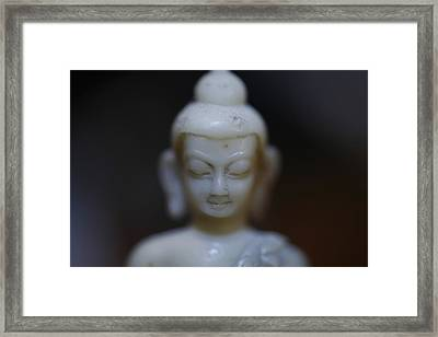 Buddha Framed Print by Brady D Hebert