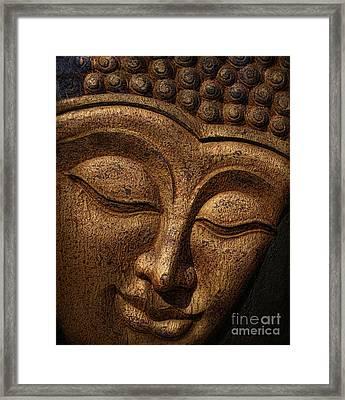 Buddha Framed Print by Elena Nosyreva