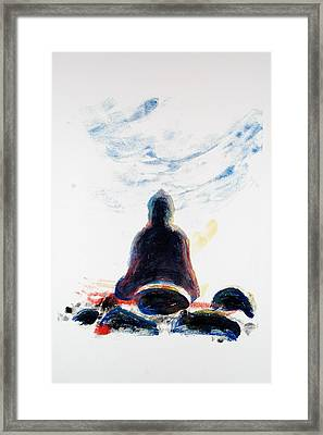 Buddha Fifty-one Framed Print by Valerie Lynch