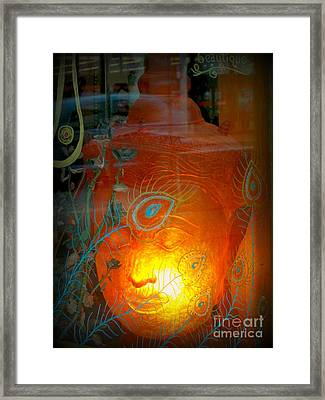 Buddha Head Framed Print
