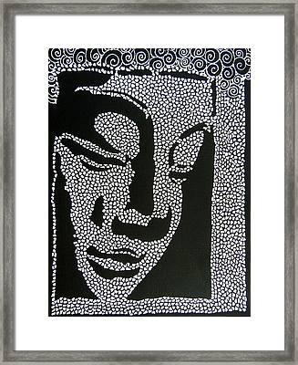 Buddha I Framed Print by Kruti Shah