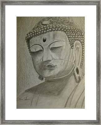 Buddha Framed Print by Irving Starr