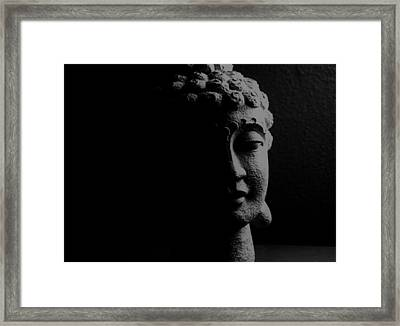 Framed Print featuring the photograph Buddha  by Jessica Shelton
