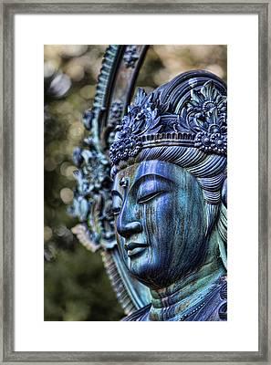 Buddha Framed Print by Karen Walzer