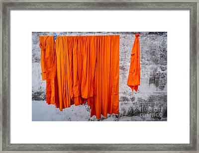 Buddha - Karmic Clean Framed Print