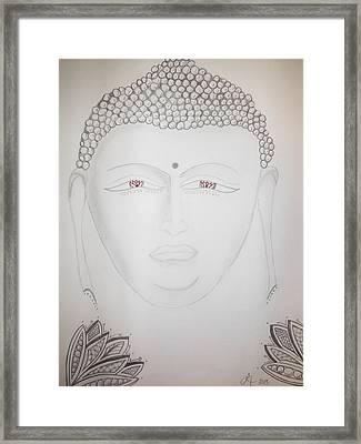 Buddha Framed Print by Lori Thompson