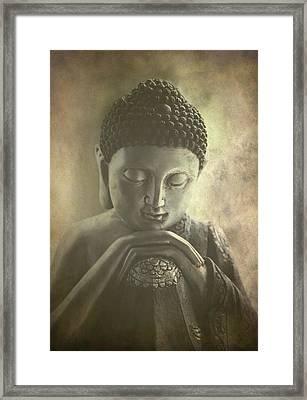 Buddha Framed Print by Madeleine Forsberg