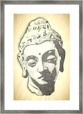 Buddha Framed Print by Noah Babcock