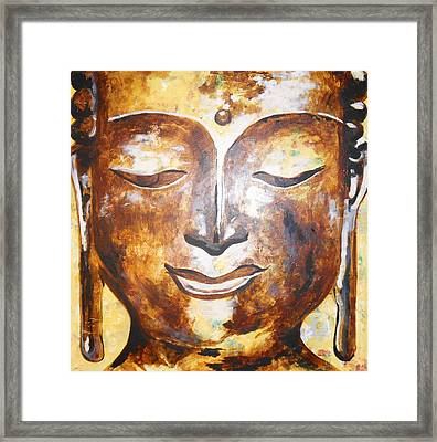 Buddha Of Compassion Framed Print