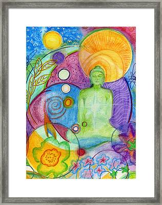 Buddha Of Infinite Possibilities Framed Print