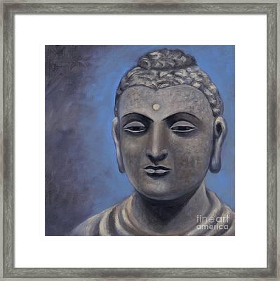 Buddha Portrait Framed Print