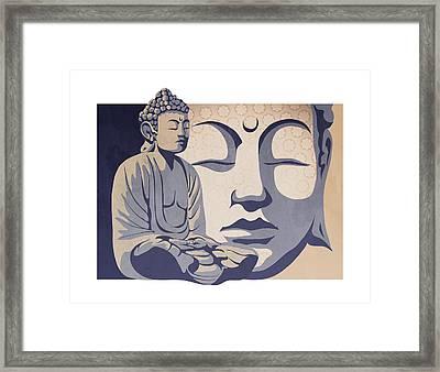 Buddha Framed Print by Sassan Filsoof