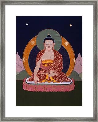 Buddha Shakyamuni Framed Print by Leslie Rinchen-Wongmo