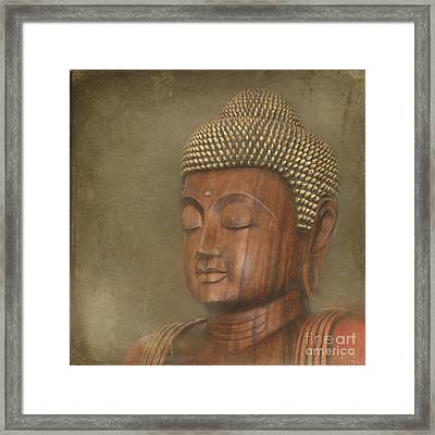 Buddha Framed Print by Sharon Mau