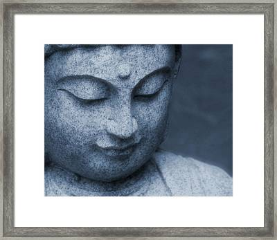 Buddha Statue Framed Print by Dan Sproul