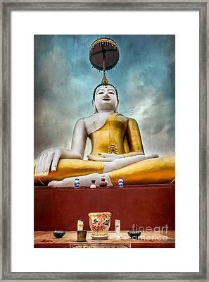 Buddha Thailand Framed Print by Adrian Evans