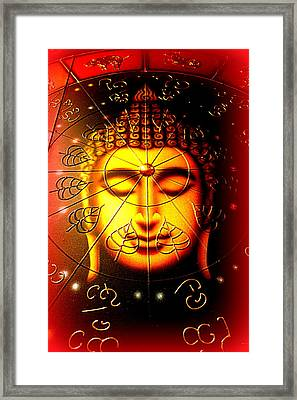 Buddha Framed Print by The Creative Minds Art and Photography