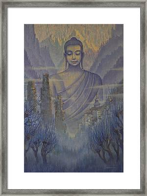 Buddha. Valley Of Silence Framed Print