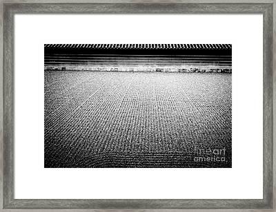 Buddha - Zen Landscape Framed Print by Dean Harte