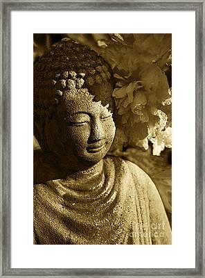 Buddha's Kiss Framed Print by Catherine Fenner