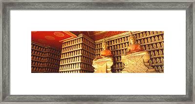 Buddhas Wat Xien Thong Luang Prabang Framed Print by Panoramic Images