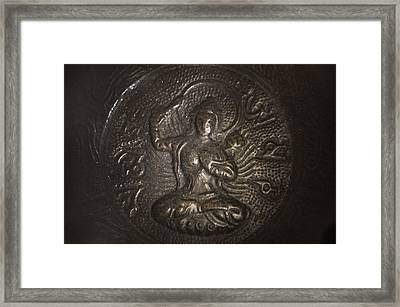 Buddhism 3 Framed Print by Gina Dsgn