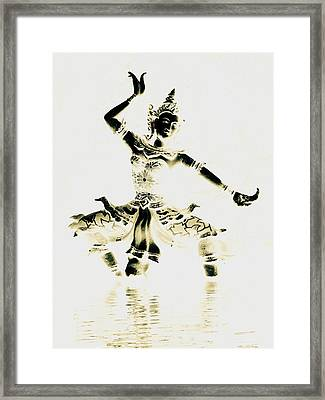 Buddhist Dancer Framed Print