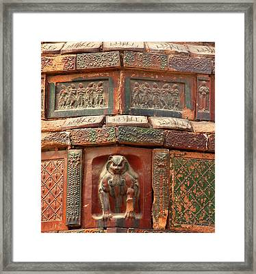 Buddhist Monument Kaifeng China Built Framed Print