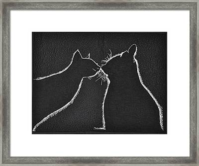 Buddies Framed Print