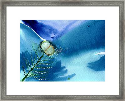 Budding 2 Framed Print by Anil Nene
