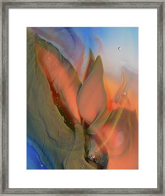 Budding From The Depths Framed Print