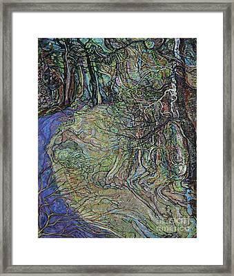Budding Trees Framed Print