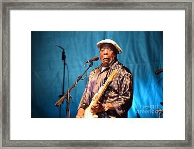 Buddy Guy 2 2012 Framed Print
