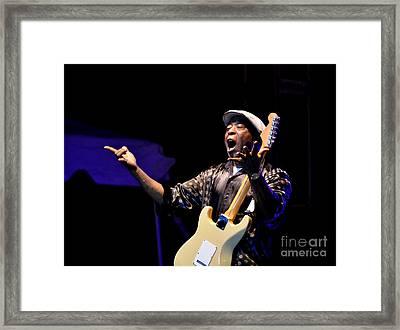Buddy Guy 3 2012 Framed Print