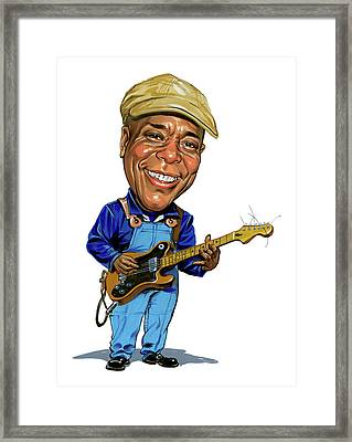 Buddy Guy Framed Print by Art