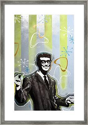 Buddy Holly Framed Print by Erica Falke