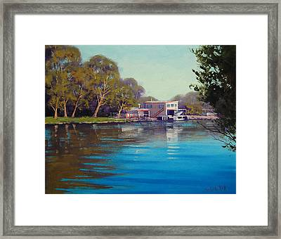 Budgewoi Creek Framed Print by Graham Gercken