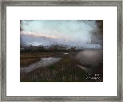 Budleigh Salterton Framed Print