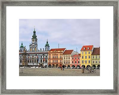 Budweis - Namesti Premysla Otakara II Framed Print
